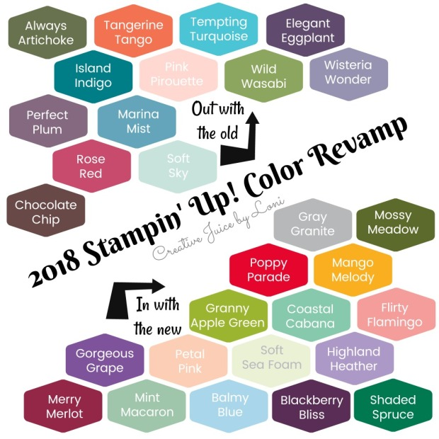 Color Revamp swatches