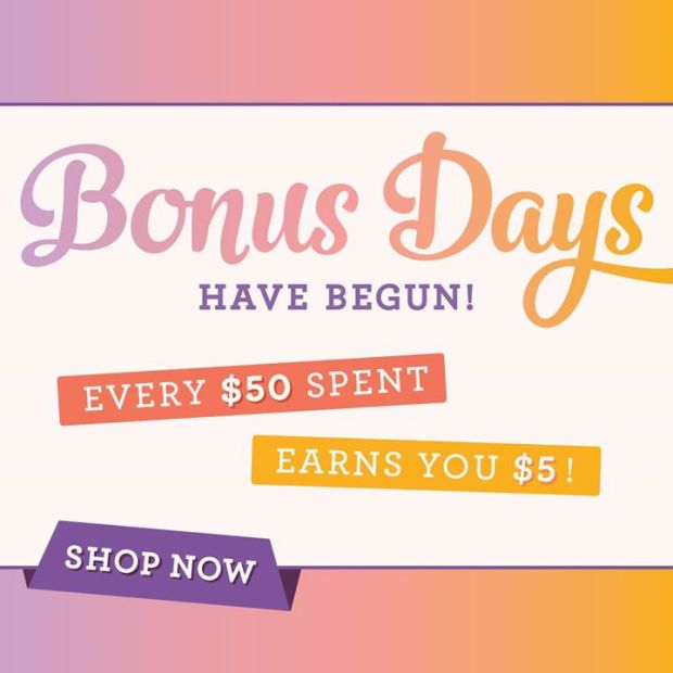BONUS DAYS Shop now