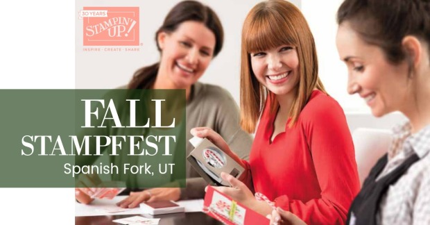 Spanish Fork Stampfest logo
