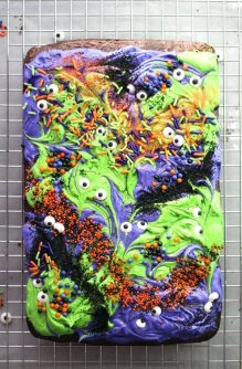 Monster Mash Brownies